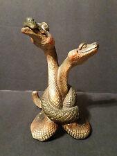 """Slick & Sissy Snakes 7.75"""" - 2002 Beasties of the Kingdom by John Raya E76025"""