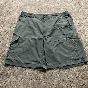 Columbia Men's Gray Size 38x10 Cargo Shorts