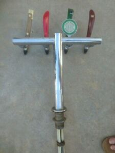 1 X 4 WAY BEER FONT suitable for flooding Glycol / icebank .with taps & adaptors