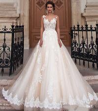 A-Linie Brautkleid Hochzeitskleid Kleid Braut Babycat collection weiß BC753W 42