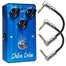 Suhr Shiba Drive Overdrive Distortion Guitar Effects Pedal True Bypass w/ Patch
