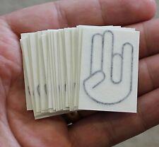 SHOCKER Lot of 25 Vinyl Decal Stickers Car Window Wall Bumper JDM ILLEST DRIFT