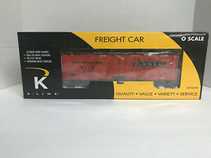 K-Line Wilson Car Lines Wood Sided Reefer  - K74-2803 - New In Box