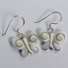Shiva Eye Earrings 925 Sterling Silver
