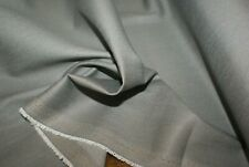 1m x 1.4m 'Grey Cotton Blend' Suiting Fabric w Stretch, Sewing Material