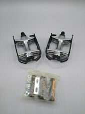 """New Wellgo PD1036 Alloy Quill Pedals 1/2"""" Black Fast Shipping US Seller"""