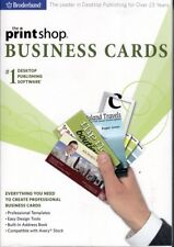 Print Shop BUSINESS CARDS Designer Software NEW ~ Create your own Business Card
