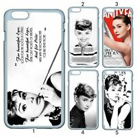 Audrey Hepburn Quote For Apple iPhone 11 iPod / Samsung Galaxy S20+ Case Cover