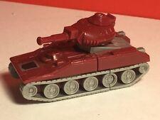 VINTAGE TRANSFORMER ACTION FIGURE ROBOT 1986 HASBRO TAKARA WARPATH RED TANK MINI