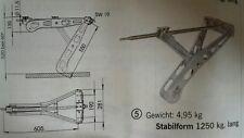 AL-KO Steckstützen Premium  Einbaumaß 605, 1250kg Tragfähigkeit