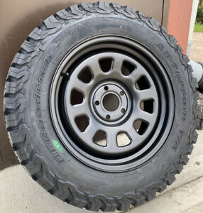 """TuffAnt Land Rover Discovery 4 18"""" Steel Wheels & BF Goodrich Tyres x4"""