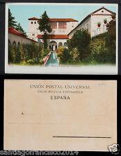 1917.-GRANADA -7200 Patio y Palacio del Generalife (Postal sin División)