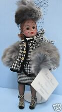 Madame Alexander Houndstooth Cissette 22190 Made in USA Retired Excellent MIB