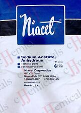 Sodium Acetate ANHYDROUS Minimum 99.5% purity! 50LB BAG!