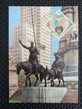 Spain MK 1966 Cervantes Don Quijote Chisciotte cavallo MAXIMUM CARD MC cm c5112