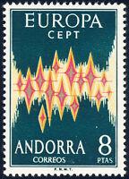 ANDORRA (span.) 1972, MiNr. 71, Europa, CEPT, tadellos postfrisch, Mi. 60,-