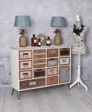 Loft Sideboard Retro Dresser Apothekerkommode Apothecary Cabinet Vintage