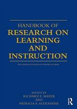 Handbook of Research on Learning and Instruction (Educational Psychology Handboo