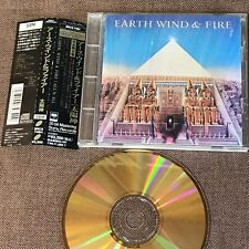 EARTH, WIND &FIRE All'N'All JAPAN 24k GOLD CD SRCS7484 w/OBI MAURICE WHITE FreeS