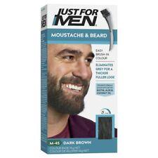 Just For MEN M45 coloration teinture Barbe *Chatain foncé* naturel en 5 minutes