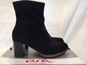 ara Women's Bristol Black Suede Fashion Boots , UK 6.5 / EU 39.5 rrp £194