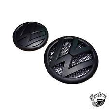 Volkswagen VW Transporter T5 noir mat Badge Emblème Avant/Arrière Badge Set TDI