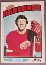 1976-77 O-Pee-Chee #71 Michel Bergeron Detroit Red Wings RC