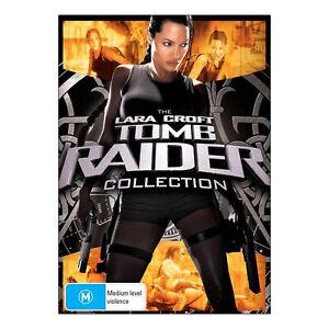 Lara Croft Tomb Raider / Tomb Raider Cradle of Life DVD New Angelina Jolie