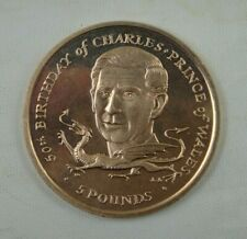 Isle of Man 5 Pounds Coin, 1998, 50th Birthday of Charles Prince of Wales