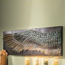 Design Toscano MH270348 Wing of Icarus Sculptural Metal Wall Frieze