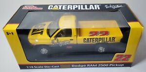 RARE 1/18 SCALE 2002 NASCAR CATERPILLAR RACING #22 WARD BURTON DODGE RAM 2500