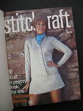 STITCHCRAFT November 1969 – October 1970 - Bound Annual volume