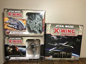 STAR WARS: X-Wing Miniatures Game 1st Edition Lot