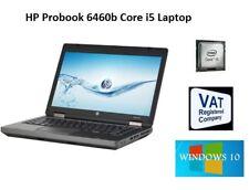 HP Probook 6460b Core i5 2nd Generation 250GB. VAT inc Free Shipping window 7/10