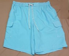 "FOUNDRY SWIM SHORTS Sz 37/1XL AQUARIUS TRUNKS 11"" INSEAM QUIK DRY BOARD SURF NEW"