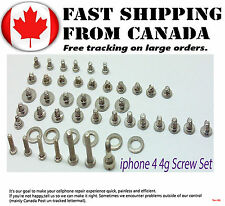 For New iPhone 4 4G Screws Kit Set For Replacement Internal Screws Set New Parts