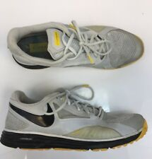 Nike Men's Gray/Yellow Flywire Lunar Edge 15 Livestrong Athletic Shoes Sz 13