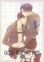 Attack on Titan YAOI Doujinshi ( Eren x Levi ) NEW!! GOD KNOWS WHY