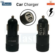 New SUPER FAST Dual In Car Charger for Apple iPhone 8/7/6s/6/5s Plus