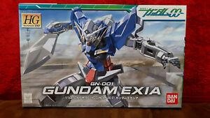 Gundam 00 GUNDAM EXIA (GN-001) HG Bandai Skala 1:144