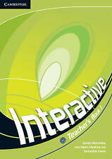 Interactive Level 1 Teacher's Book with Web Zone Access, Holcombe, Garan, Very G