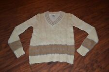 B11- Vintage Kennington Ltd V-Neck Acrylic Blend Sweater Size L (16/18)
