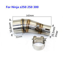 Motorcycle Exhaust Middle Pipe Connecting Pipe Link Tube for Ninja z250 250 300