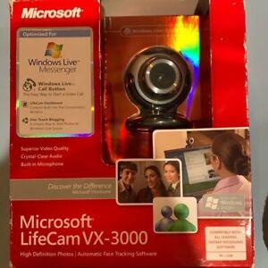 microsoft lifecam vx-3000 webcam