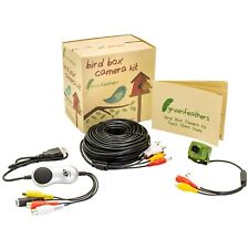Green Feathers Wired Bird Box Camera 700TVL & USB Recording Kit with 20m Cable