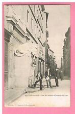CPA -  GRENOBLE -  38 -  RUE SAINT LAURENT ET FONTAINE DU LION  -  ANNEES 1900