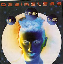 DESIRELESS QUI SOMMES NOUS / INSTRUMENTAL DUTCH 45 SINGLE