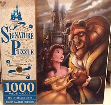 Disney Signature Puzzle 25th Beauty & the Beast 1000 pcs Puzzle New In Box