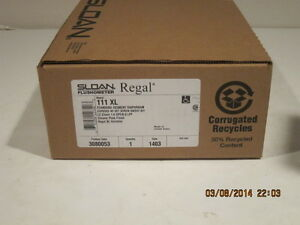 Sloan REGAL 111 XL Low Consumption Exposed Flushometer-FREE FAST SHIPING NISB!!!