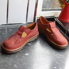 WOMEN'S RED DR.MARTENS MARY JANE MADE IN ENGLAND SHOES SIZE UK 5